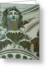 Rome Statue Greeting Card
