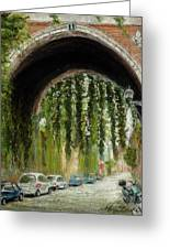 Rome Street Scene Greeting Card