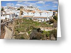 Ronda Old City In Spain Greeting Card