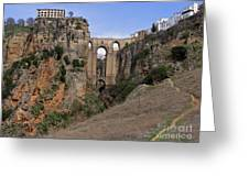 Ronda Spain Greeting Card