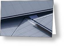 Roof Lines - Montague Island - Australia Greeting Card