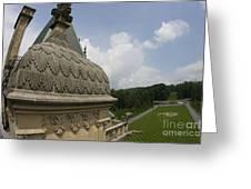 Roof Of Biltmore Estate Greeting Card