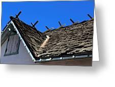 Roof Shingle Greeting Card