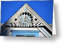 Roof Top 1911 Greeting Card
