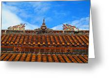 Roof Top Greeting Card