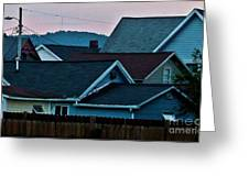 Roof Top Symphony Greeting Card