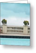 Rooftop Pool Greeting Card