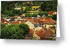 Rooftops In Sarlat Greeting Card by Elena Elisseeva