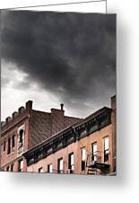 Rooftops Of New York Greeting Card