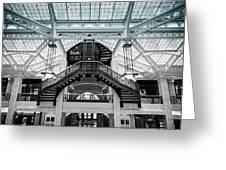 Rookery Building Atrium Greeting Card