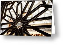 Rookery Building Iron Design Greeting Card
