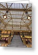 Rookery Building Lobby Greeting Card