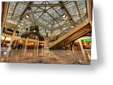 Rookery Building Main Lobby And Atrium Greeting Card
