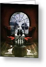 Room Skull Greeting Card