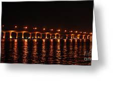 Roosevelt Bridge Panorama Greeting Card