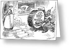 Roosevelt Cartoon, 1908 Greeting Card by Granger
