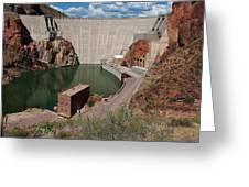 Roosevelt Dam Greeting Card
