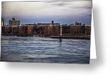Roosevelt Island View - Nyc Greeting Card