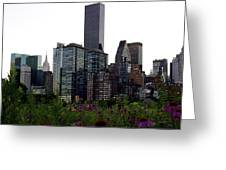 Roosevelt Island View Greeting Card