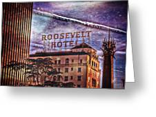 Roosevelt Retro Greeting Card