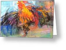 Rooster Greeting Card