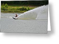 Rooster Tail Greeting Card by Susan Leggett