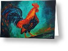 Rooster Tails Greeting Card