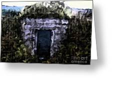 Root Cellar Abstraction Greeting Card