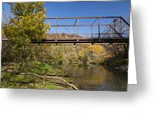 Root River Autumn 3 Greeting Card