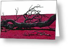 Rooted In Red Greeting Card