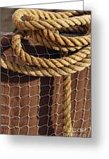 Rope And Net Greeting Card