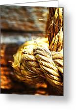 #rope Greeting Card