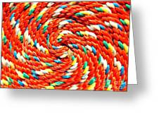 Rope Greeting Card