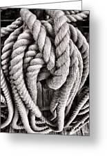 Rope Greeting Card
