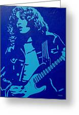Rory Gallagher Greeting Card by John  Nolan