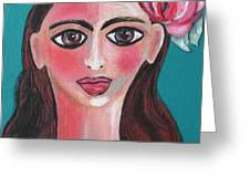 Rosa Greeting Card