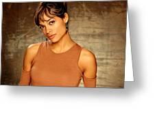 Rosario Dawson  Greeting Card