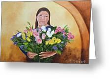 Rosa's Roses Greeting Card
