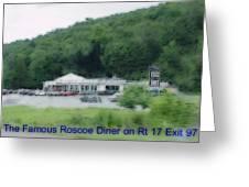 Roscoe Ny Diner Greeting Card