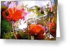 Rose 204 Greeting Card by Pamela Cooper