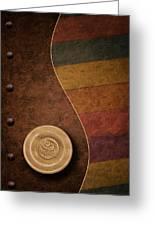Rose Button Greeting Card by Tom Mc Nemar