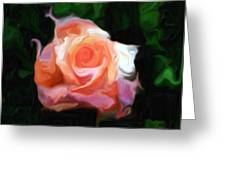 Rose Colored Greeting Card