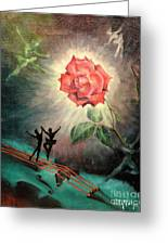Rose Concerto  1941 Greeting Card