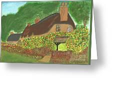 Rose Cottage Greeting Card