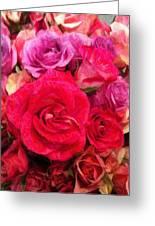 Rose Enhanced Greeting Card