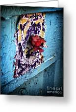 Rose For The Dead Greeting Card by John Rizzuto
