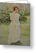 Rose Garden Greeting Card