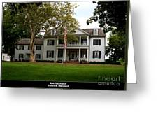 Rose Hill Manor Greeting Card