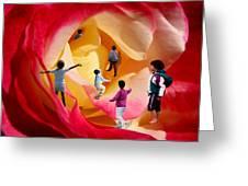 Rose Labyrinth Greeting Card
