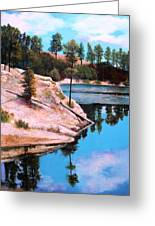 Rose Lake Sequel 2 Greeting Card